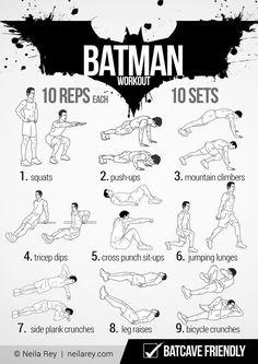 Batman Workout 2