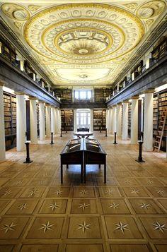 A Grande Biblioteca da Igreja Reformada da Universidade de Sarospatak, Hungria