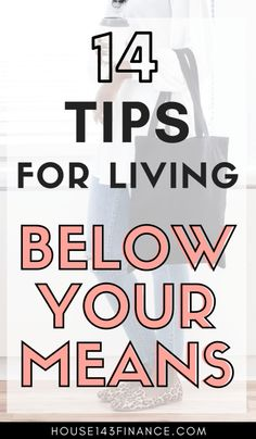 14 Ways to Live Below Your Means - House 143 Finance - Easy Money Ways To Save Money, Money Tips, Money Saving Tips, Money Hacks, Frugal Living Tips, Frugal Tips, Setting Up A Budget, Living Below Your Means, Financial Tips