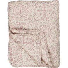 Quilt Fower Malva smoke, 130 x 180 cm Towel, Smoke, Quilts, Back Stitch, Floral Patterns, Cotton, Quilt Sets, Log Cabin Quilts, Smoking