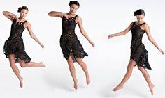 Revolutionary 4D Printed Dress - http://newsrule.com/revolutionary-4d-printed-dress/