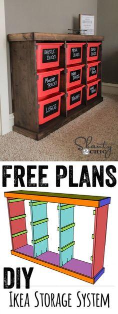 Free Plans DIY Storage Idea… LOVE this for t - http://yourhomedecorideas.com/free-plans-diy-storage-idea-love-this-for-t/ - #home_decor_ideas #home_decor #home_ideas #home_decorating #bedroom #living_room #kitchen #bathroom -