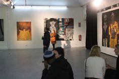 Kunstaustellung in der Eventgalerie in Berlin Kreuzberg www.forum-factory.de