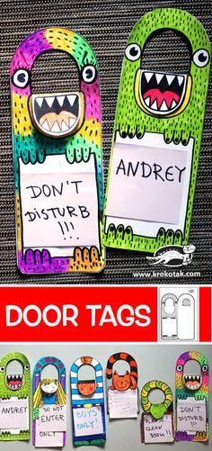 Krokotak   Značky dveří DIY