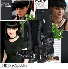 """""""Abby Sciuto"""" by firewitch23 ❤ liked on Polyvore"""
