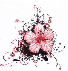balinese flower tattoo