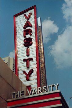 The Varsity, an Atlanta Institution!  photo by Steve Golse