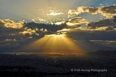Sunset Over Athens   Trish Herzog Photography