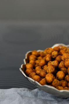Röstitud kikerherned/Roasted chickpeas