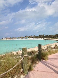 Castaway Cay - Disney's Private Island. We stopped here during our 4 night Bahamian cruise on the Disney Dream.