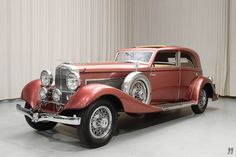 1933 Duesenberg Model J Franay Sunroof Berline