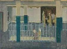 Mark Rothko (1970) Se considera un autodidacta, el estilo sus pinturas eran rectángulos confrontados.