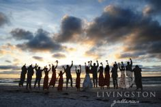 Photo by Livingston Galleries | Romantic Honeymoon Island | Honeymoon Island State Park, Dunedin, FL | Florida Weddings | Beach Weddings | Weddings on the Water