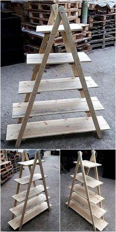 16 Excellent And Awesome Repurposed Garden Decor - Diy Garden Decor İdeas Recycled Garden, Recycled Pallets, Wood Pallets, Recycled Materials, Pallets Garden, Pallet Wood, Crafts With Pallets, 1001 Pallets, Diy Pallet Projects