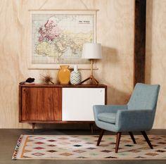 I'm loving the retro furniture look.
