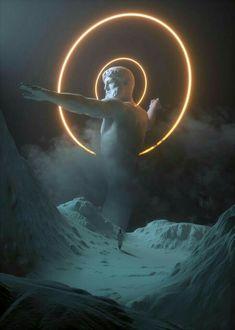 Vaporwave Old Gods Inspiration Glitch Art, 3d Art, Vaporwave Art, Greek Art, Illustration, Arte Pop, Aesthetic Art, Aesthetic Statue, Photomontage