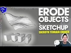 In this video, learn to use Eneroth Fractal Terrain Eroder to create rough, organic faces on your objects in SketchUp!