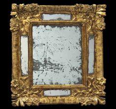 17th c. french 'miroir pateclose'. drouot, paris.