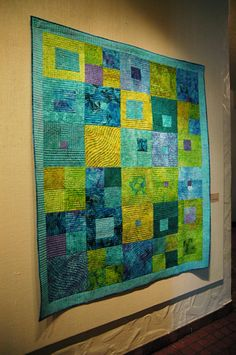 "Springville Quilt Show - ""The Maze"" 