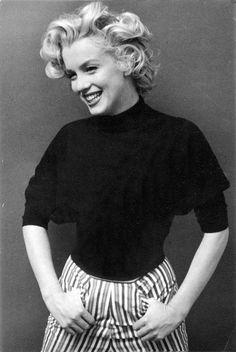 Marilyn Monroe by Ben Ross. 1953.