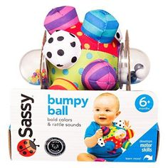 Baby-Best-Development-Toy-Sassy-Developmental-Bumpy-Ball-Babys-Environment