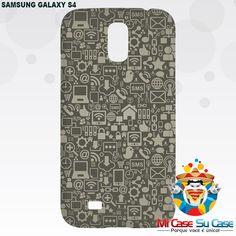 #capinhas para Samsung Galaxy S4 - Personalize sua própria capinha ou escolha dentre as milhares de estampas disponíveis em nosso site.