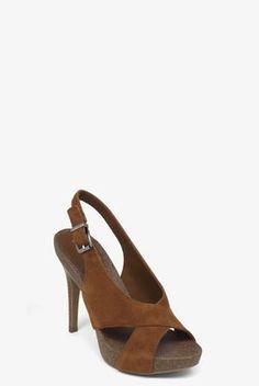 Greer Crisscross Slingback Sandal x BCBG $59 Sale