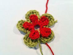 ANNEMARIE'S CROCHET BLOG ♥ ANNEMARIE'S HAAKBLOG: Monday Pattern Day: double flowers
