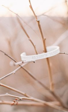 The Ion bracelet makes a special gift for bridesmaids or groomsmen//