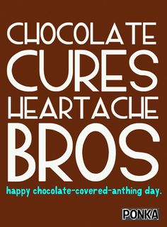 Dudes, Dec 16th is Chocolate Covered Anything Day.  We wish this was a joke, but it's not. #WackyDays