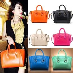Lady Handbag Shoulder Bag Tote Purse Leather Messenger Bag