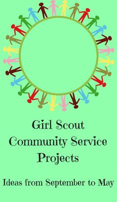 Girl Scout Community Service Projects All Year Long – Scout Leader Scout Mom, Girl Scout Swap, Daisy Girl Scouts, Girl Scout Leader, Girl Scout Troop, Girl Scout Daisies, Girl Scout Bridging, Cadette Girl Scout Badges, Girl Scout Brownie Badges