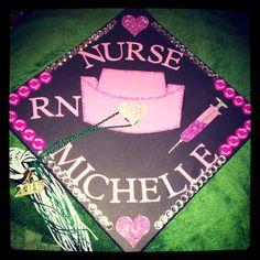 RN graduation cap <3