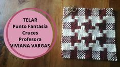Tear, Weaving Patterns, Pot Holders, Loom, Textiles, Embroidery, Fabric, Youtube, Craft