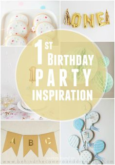 First Birthday Party Inspiration Jackson Mississippi