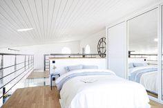 moderni-puutalo-makuuhuone-parvella