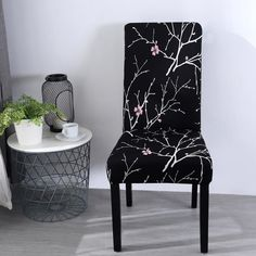 Home Chair Cover Universal Brief Style Flowers Pattern Dust-Proof Cover Dining Chair Covers, Dining Room Chairs, Banquet, Minimalist Sofa, Sofa Material, Cool Couches, Elegant Sofa, Types Of Sofas, Beautiful Sofas