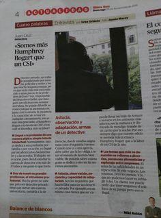 Detectives Garbo en Última Hora.