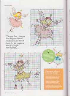 cross stitch fairy           cute
