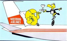 "Western Airlines... ""The Only way to fly"""