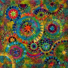 mandala design quilt patterns | Be Colourful The colourful quilt EN
