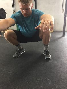 Coach Bryce demonstrating ankle mobility at CrossFit Invictus in San Diego Ankle Mobility Exercises, Ankle Strengthening Exercises, Stretches, Strengthen Ankles, Crossfit Bootcamp, Ankle Flexibility, Ankle Fracture, Perfect Squat