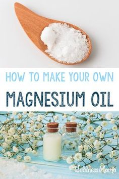 Magnesium Oil Benefits & How to Use It Make a simple DIY magnesium oil spray with only two ingredients! This skin soothing and relaxing spray helps increase magnesium levels transdermally. Natural Health Remedies, Herbal Remedies, Acne Remedies, Natural Cures, Herbal Medicine, Natural Medicine, Cough Remedies For Adults, Magnesium Oil Spray, Magnesium Flakes
