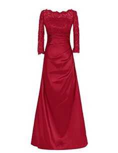 Oulifa sexy evening party prom gown formal bridesmaid cocktail chiffon lace dress