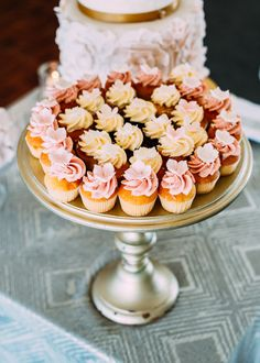 This lakeside wedding at Coolbawn Quay was overflowing with flowers and vintage touches. Need inspiration for your own big day? Mini Desserts, Delicious Desserts, Yellow Wedding, Wedding Day, Wedding Cake Alternatives, Traditional Wedding Cake, Lakeside Wedding, Mini Cakes, Cakes And More