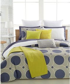 Lacoste Home Lecourbe Comforter and Duvet Cover Sets - Bedding Collections - Bed & Bath - Macy's