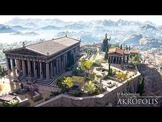 Η Αρχαία Αθήνα όπως δεν την έχετε ξαναδεί σε μια μοναδική 3D αναπαράσταση - Πρόλογος