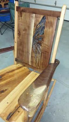 Custom Handmade Rocking Chairs for sale. Google Shotton Woodworks