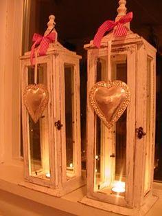 on lanterns
