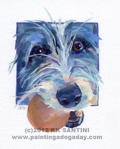 """""""Sadie Belle, A Painted Sketch"""" - Original Fine Art for Sale - © Kimberly Santini"""